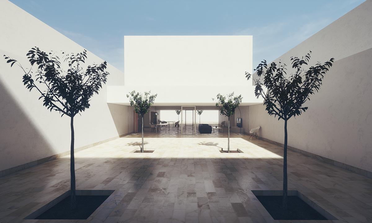 Guerrero House Unreal Engine 4 Archviz On Behance