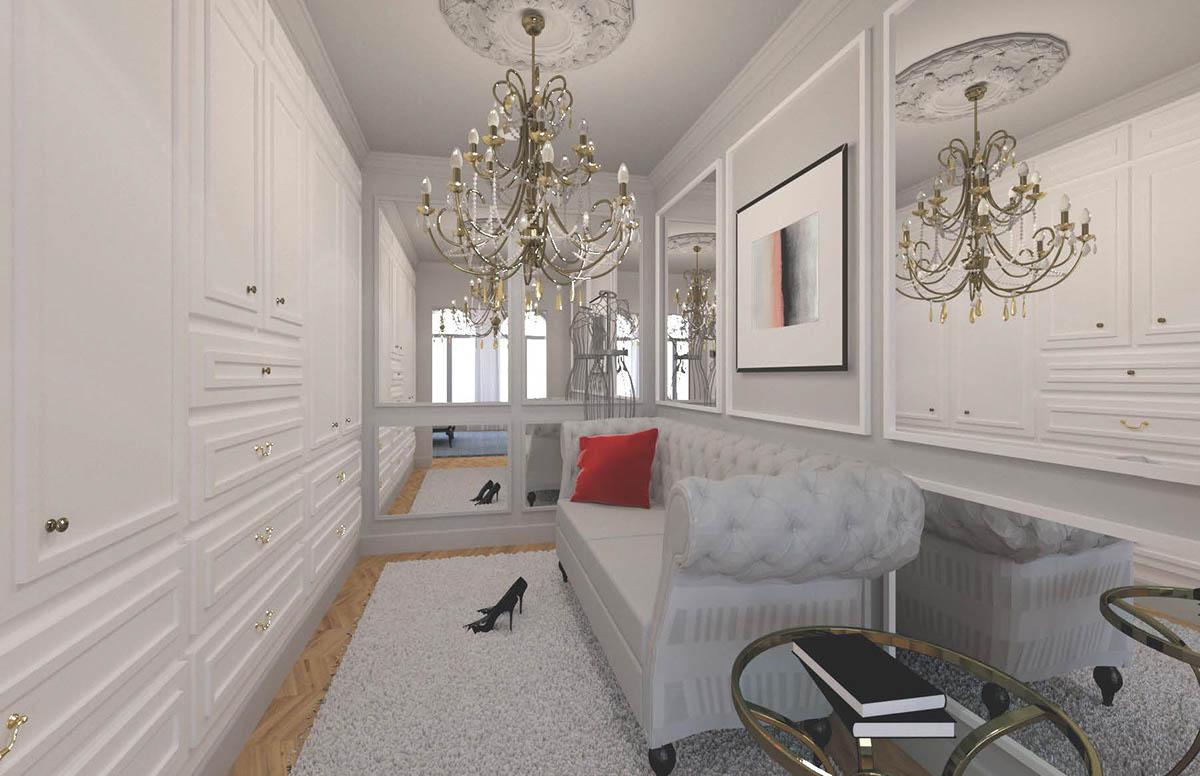 History of interior design modern boudoir on scad portfolios - Interior design students for hire ...