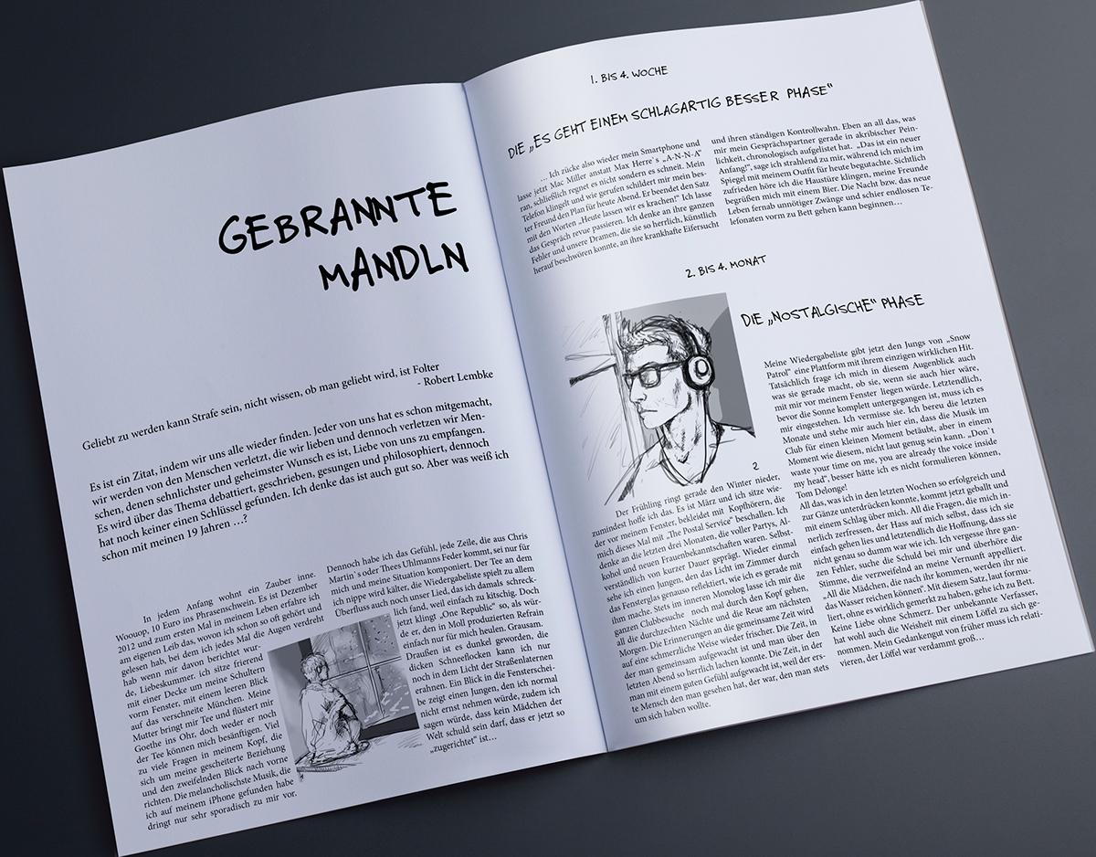 Gebrannte Mandl - Layout on Behance