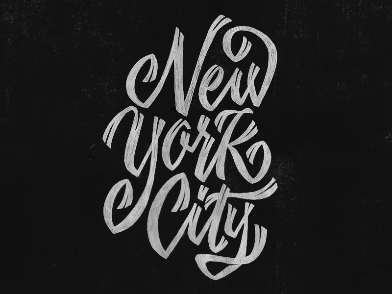 type lettering hand-lettering design chalk chalk-lettering pencil Ps25Under25 MakeItNYC