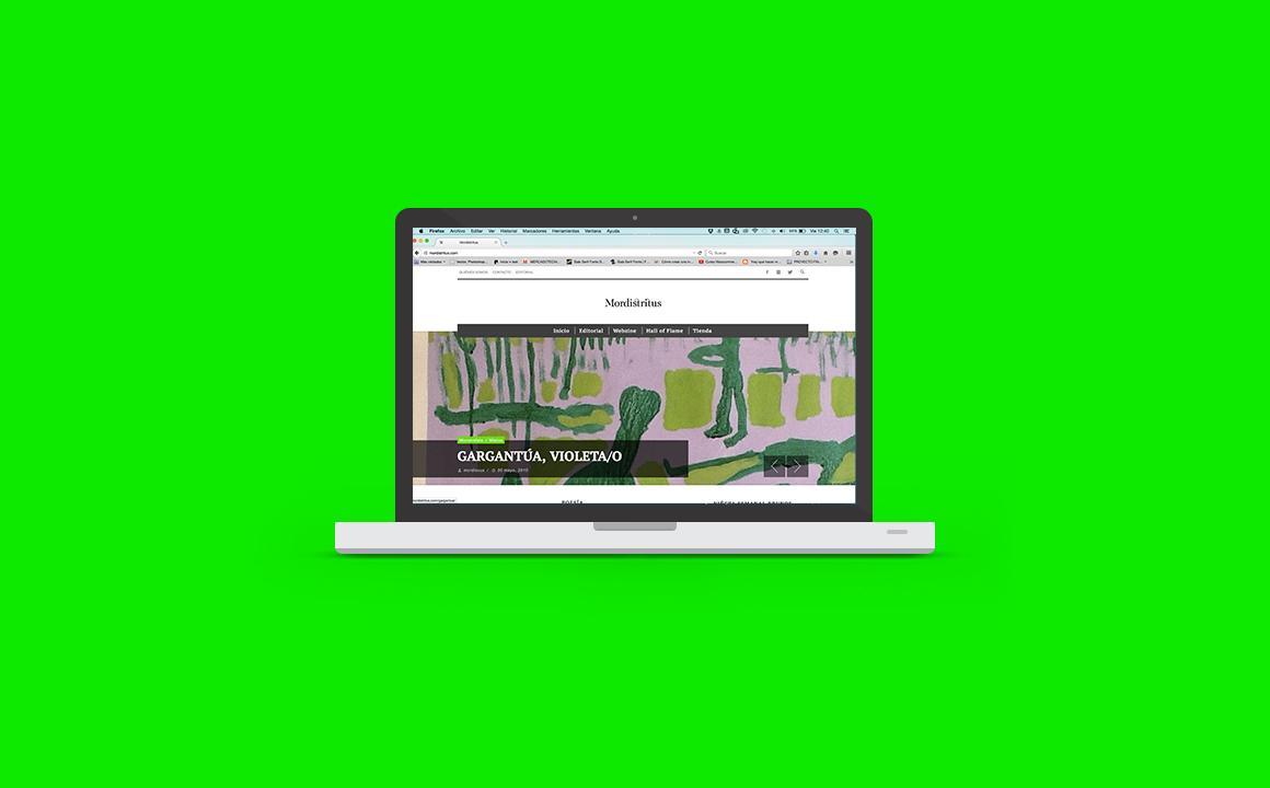 webzine Web design Web Design  diseño gráfico editorial