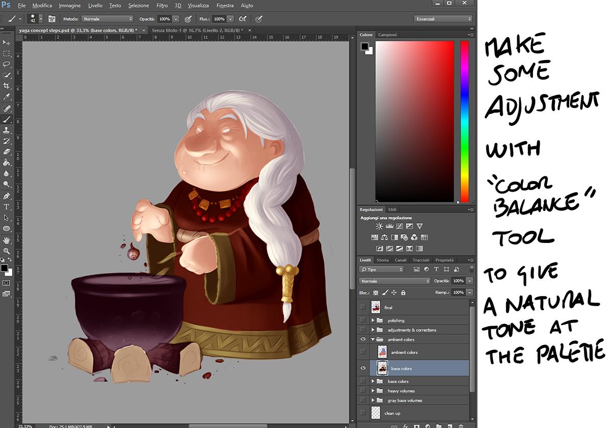 Character Design Tutorial Deutsch : Character design coloring tutorial on behance