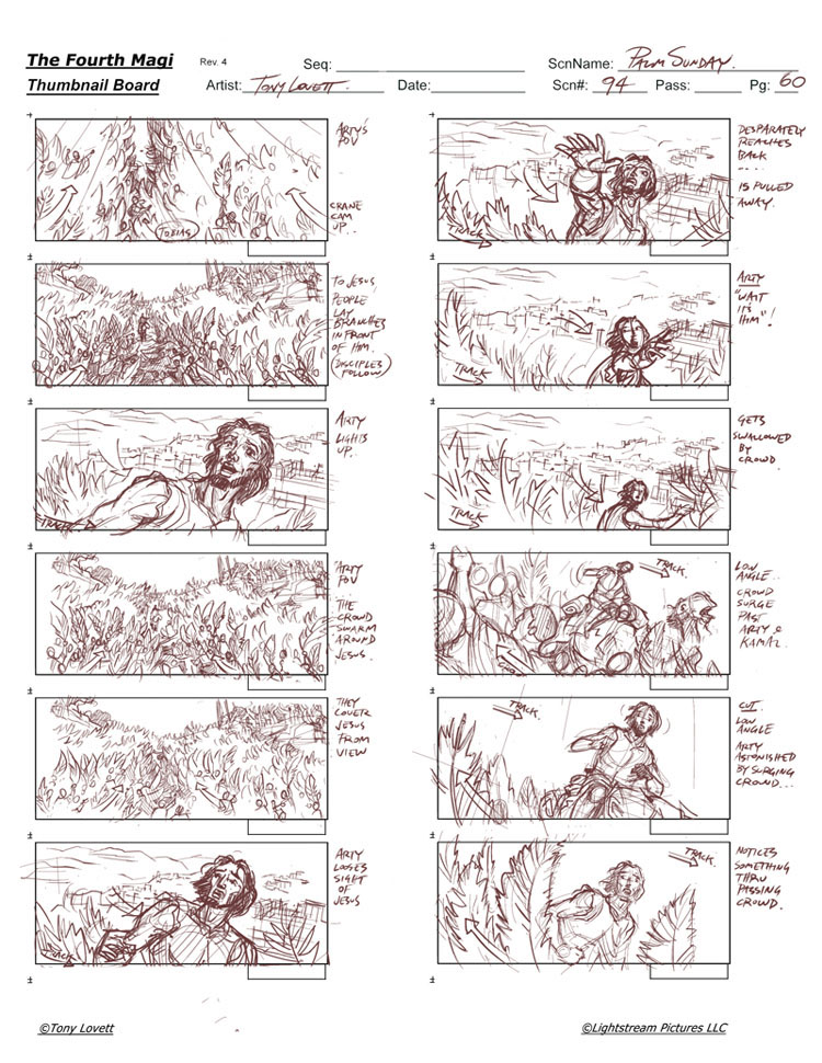 Film Storyboard - Thumbnails On Behance
