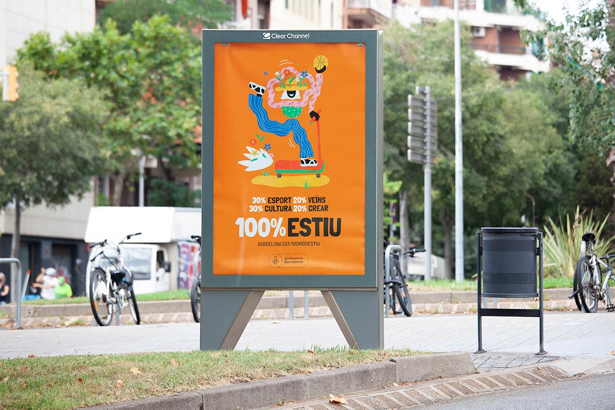 Ajuntament barcelona Coronavirus niños publicidad verano