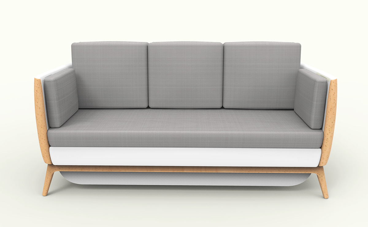 pandora multifunctional sofa on behance