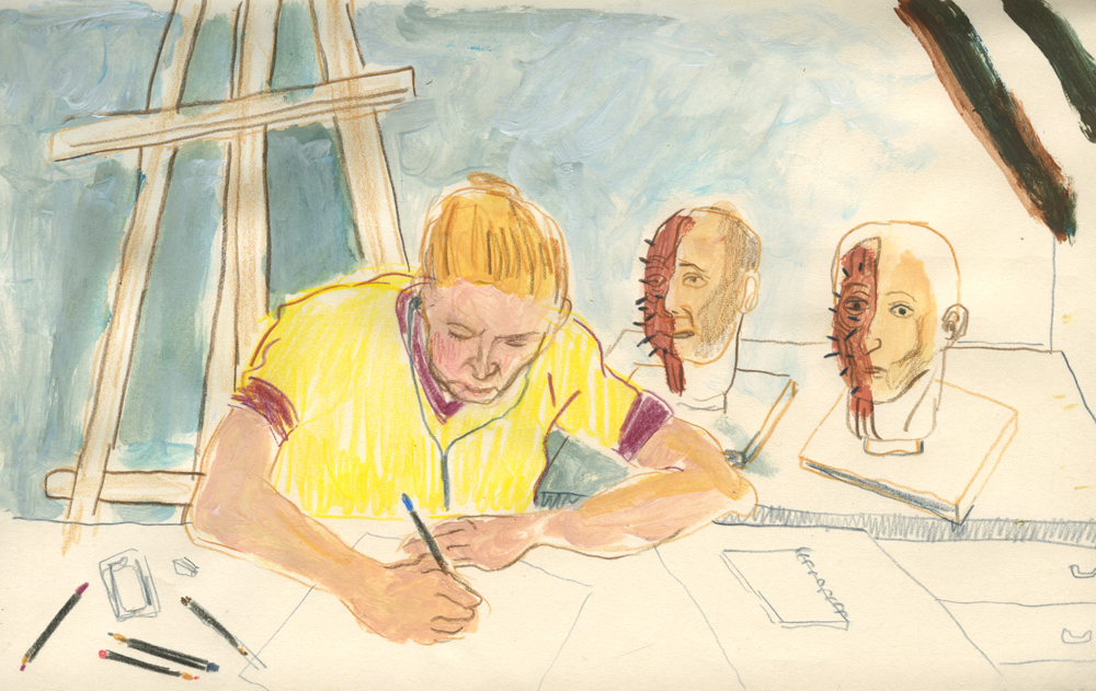 croquis carnet de croquis sketchbook observation