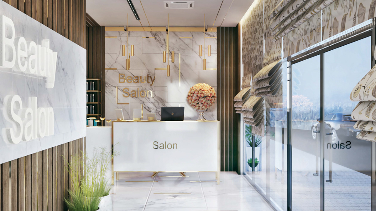 Beauty Salon Modern on Student Show