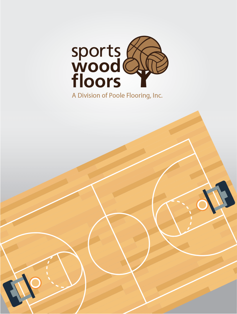 Logo Design Sports Wood Floors