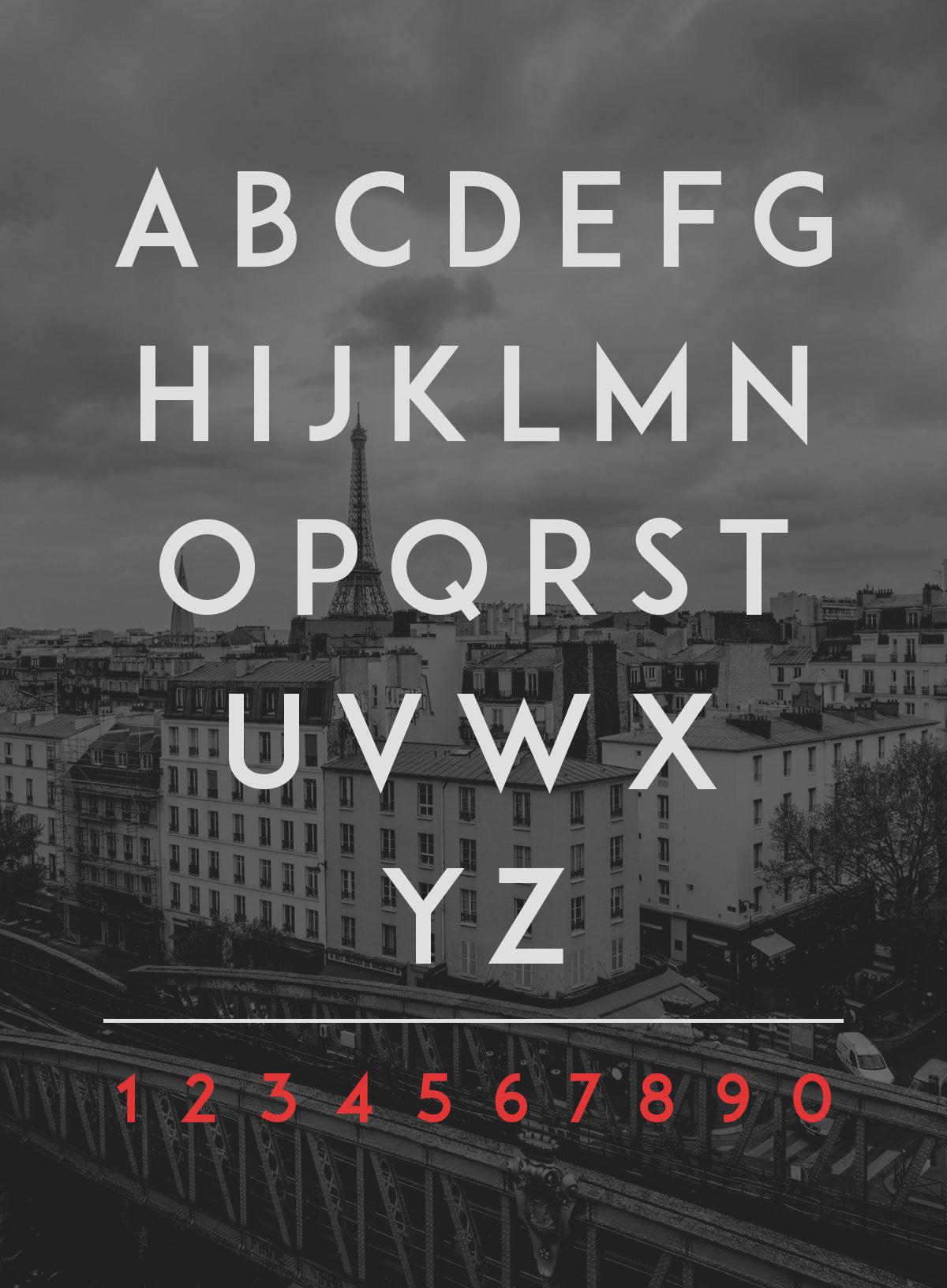 Adam Typeface font free sans serif sans serif type type design CG pro