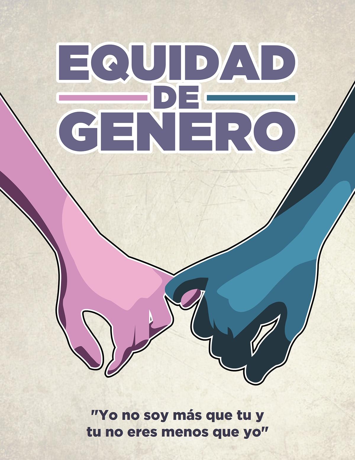 Resultado de imagen para equidad de genero carteles