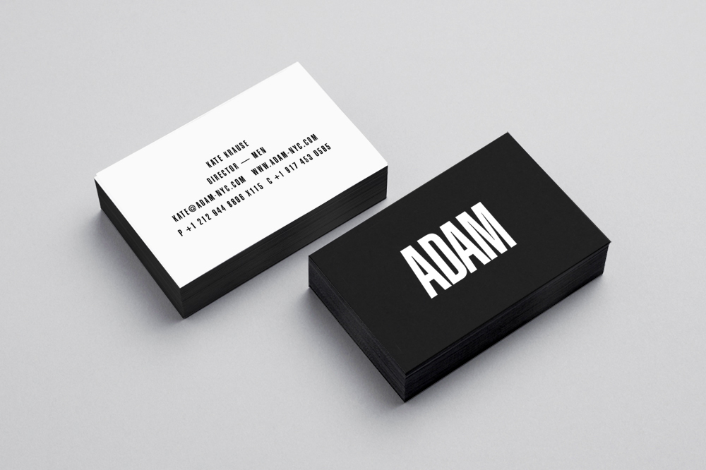 Adam Models Identity on Behance