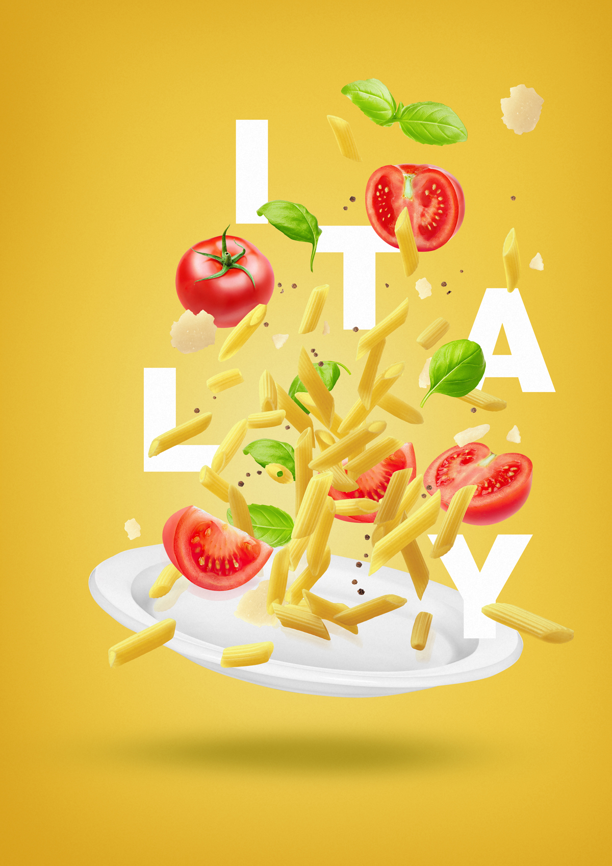 Flying Food Of The World On Behance