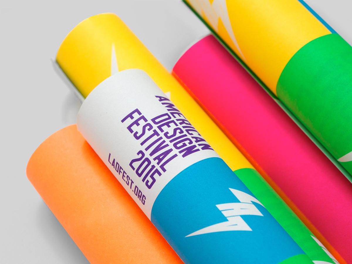 LADFEST LADFEST2015 latin american design design festival LAD Festival de diseño latinoamericano IS Creative Studio neon colors chicha cumbia culture rayo A2 A3 A4