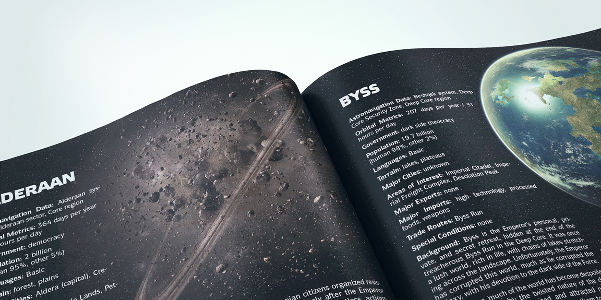 Star Wars: Age of Rebellion / Planets on Behance