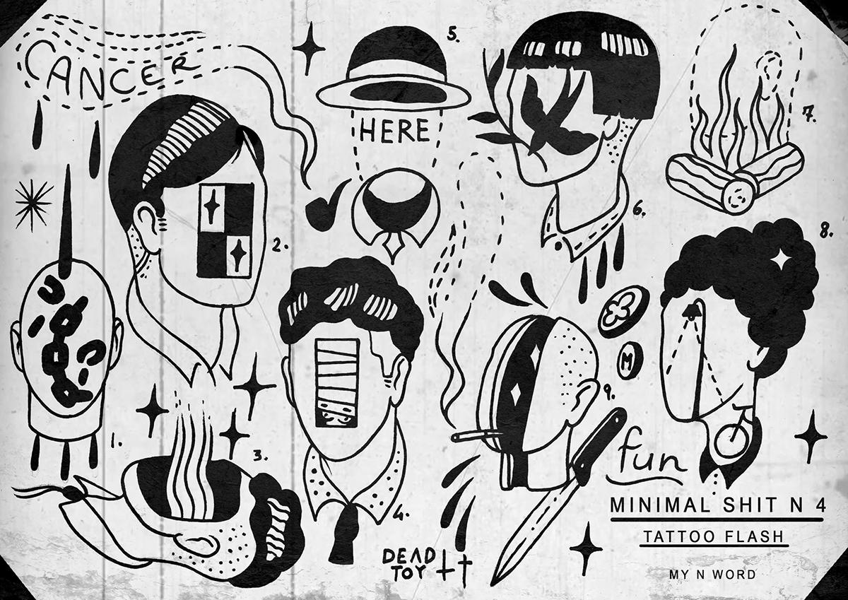 Tattoo Flash On Behance
