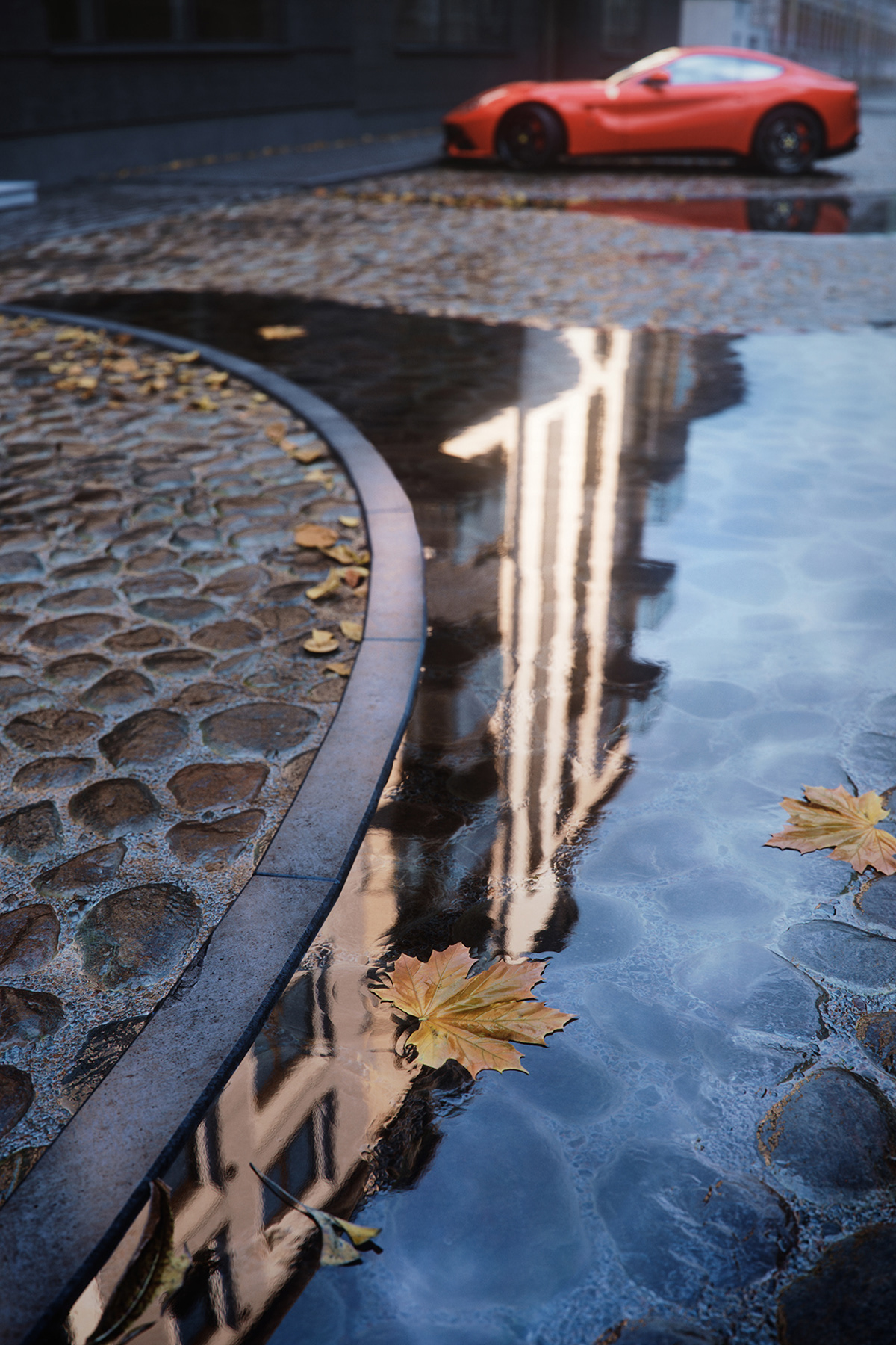 Image may contain: water, lake and reflection