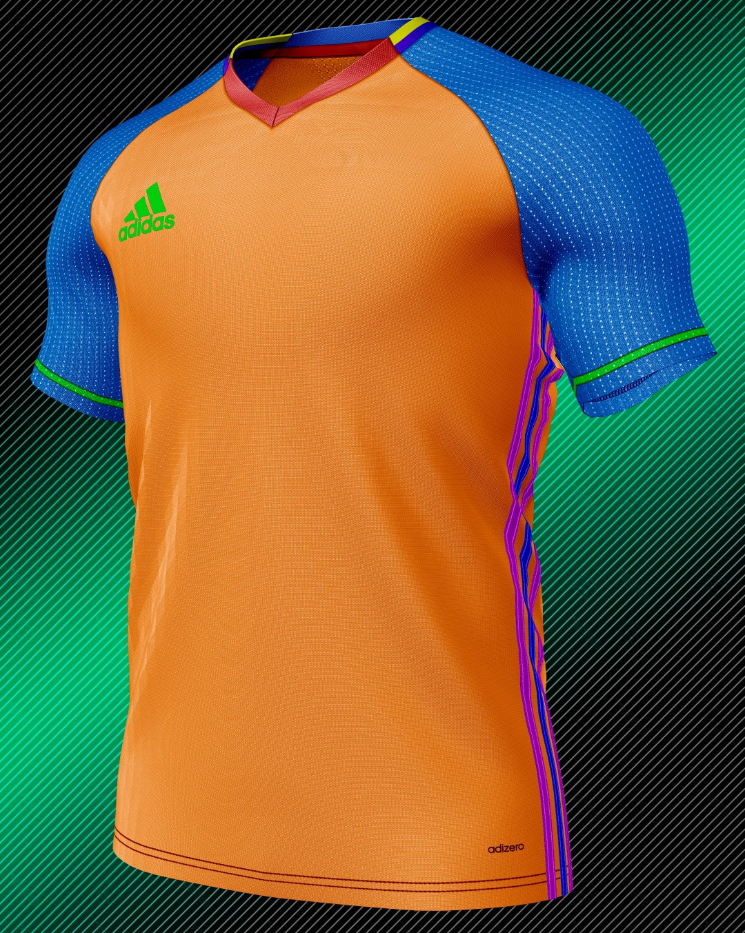 TEMPLATE CAMISETA ADIDAS    DESCARGA GRATIS    HD on Behance 24f9aaec8967c