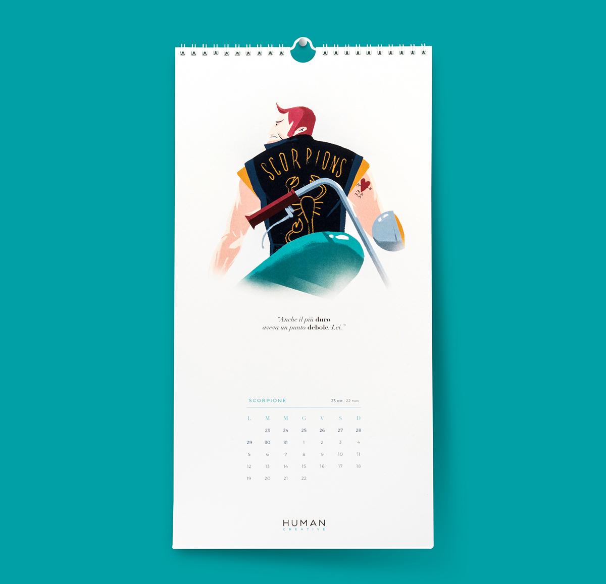 Calendario Zodiacale.Humanz Il Primo Calendario Zodiacale On Pantone Canvas Gallery