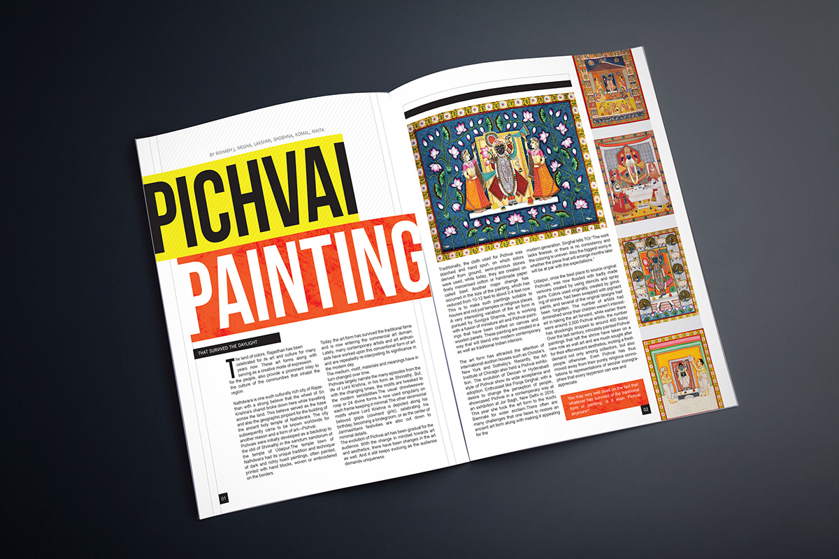 PICHWAI - A lost art form ? on Student Show