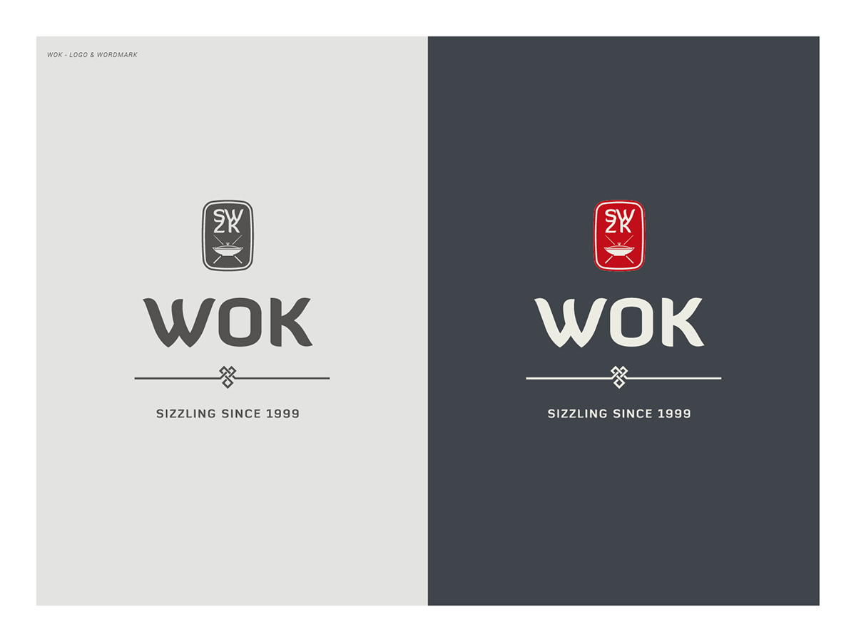 Wok Chinese Restaurant On Behance