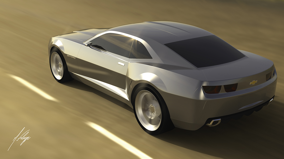 CGI l Chevrolet Camaro 2008 Concept on Behance