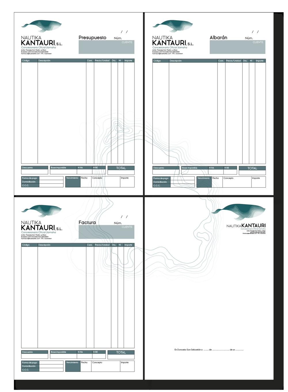 branding  marca nautika kantauri graphic design  design diseño gráfico Label identidad logo graphic