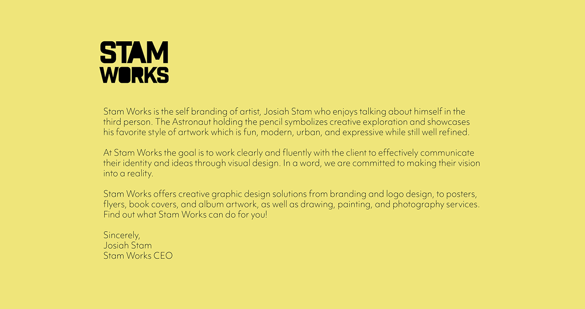 Stam Works on Wacom Gallery
