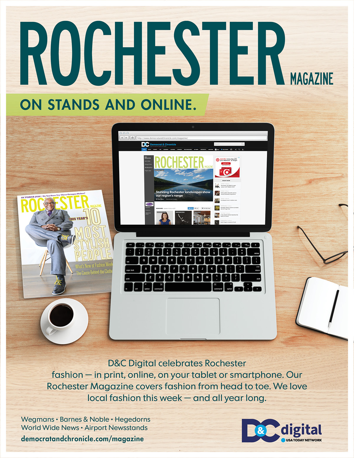 Rochester Magazine on Behance