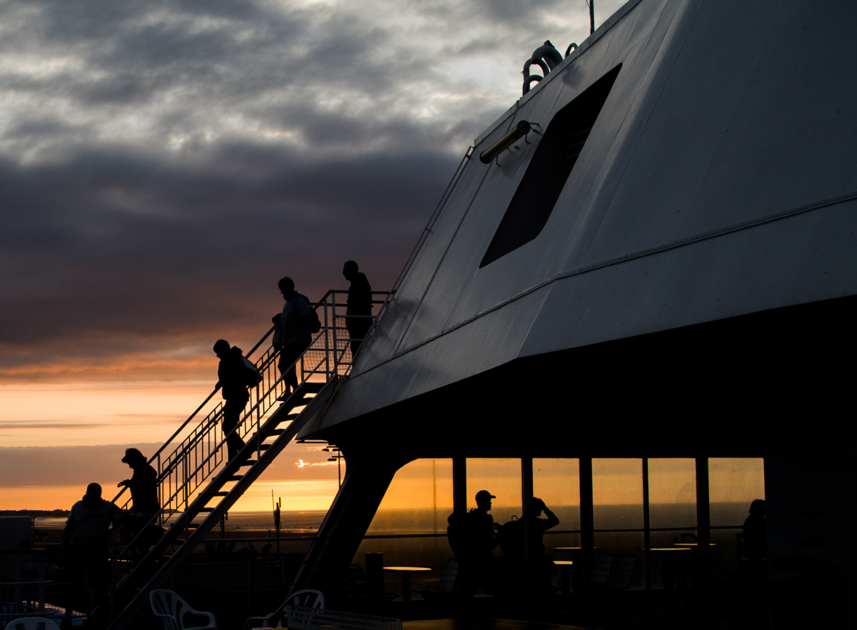 Evening Boat.