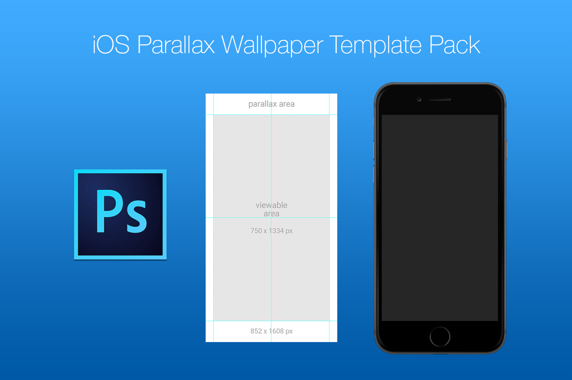 Beautiful Free IOS Parallax Wallpaper Template Pack On Behance