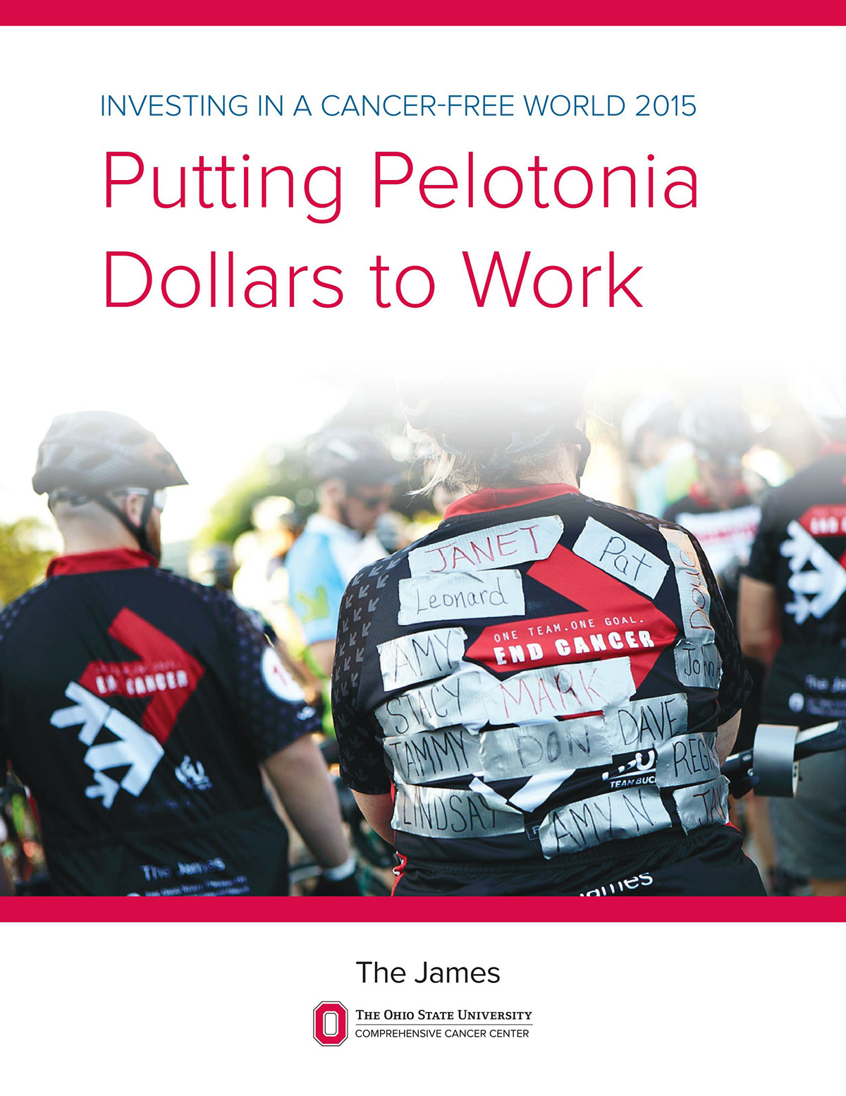 charity pelotonia Cycling Cancer Research ohio state The James