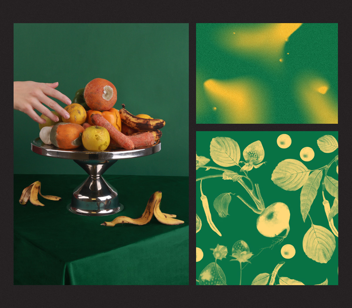hellmanns D&AD adobeawards Food waste airbnb Spoiled rotten Photography  Lumpy fruit sinking good