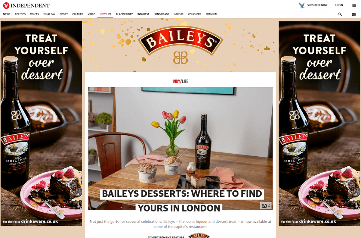 ads baileys Home page take over hpto interactive map map