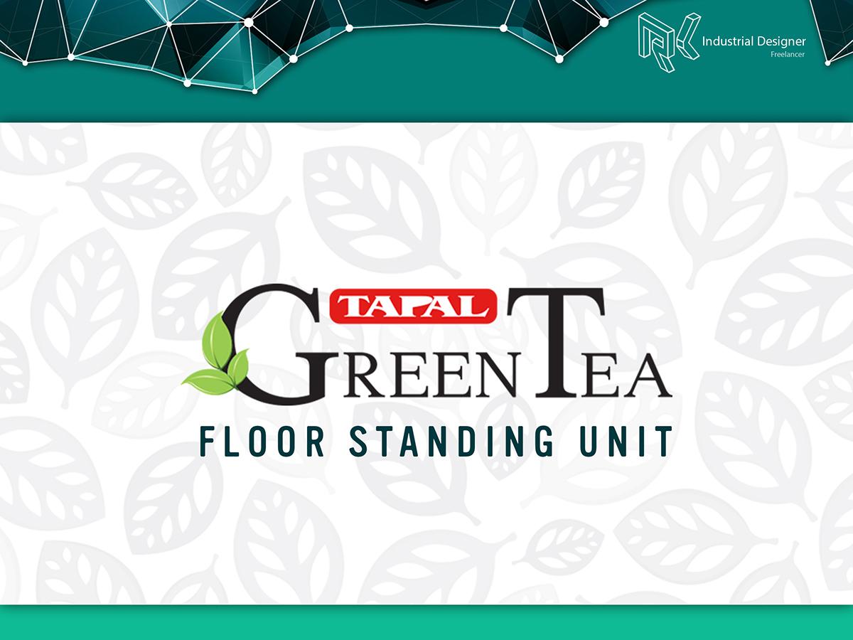 Tapal Green Tea FSU on Pantone Canvas Gallery