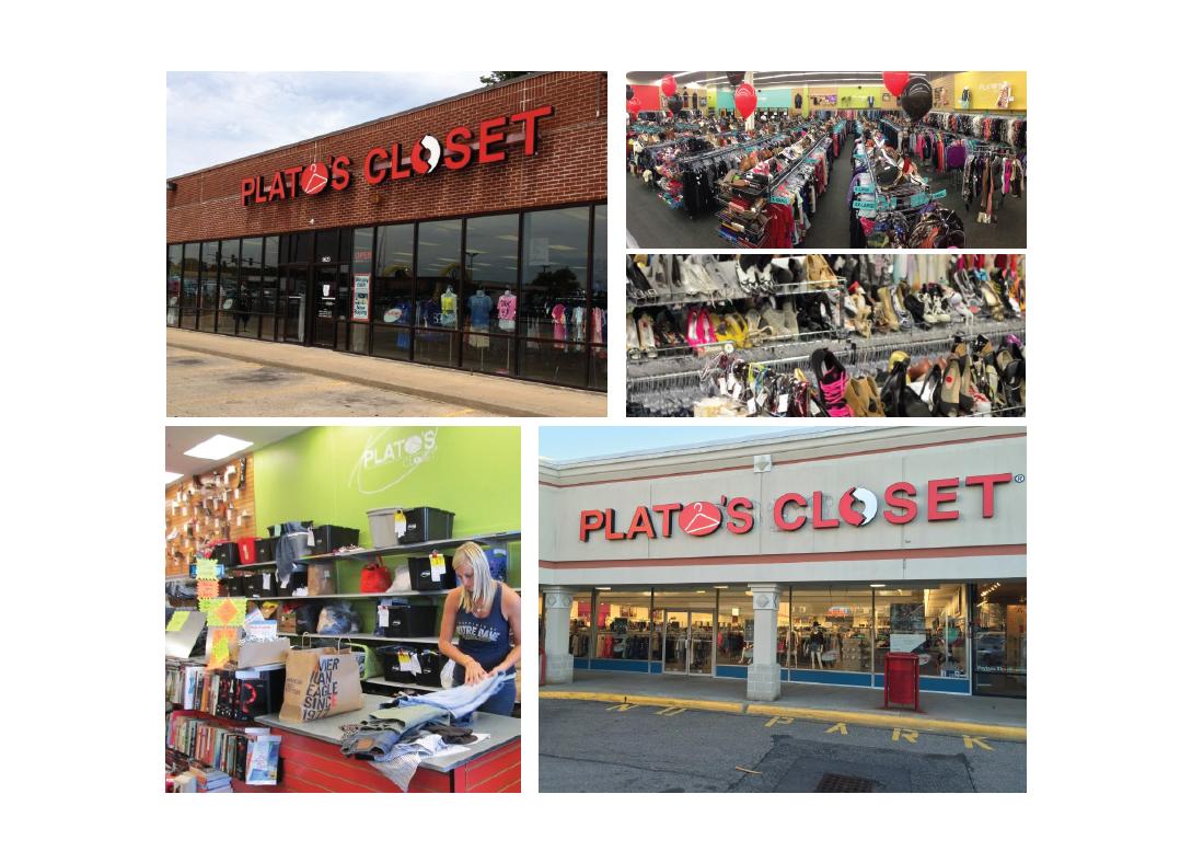 Plato S Closet Rebrand On Behance