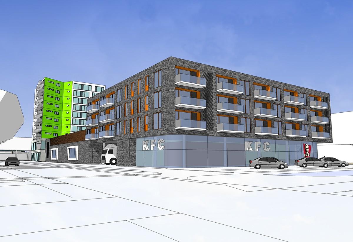 apartments Shops parking
