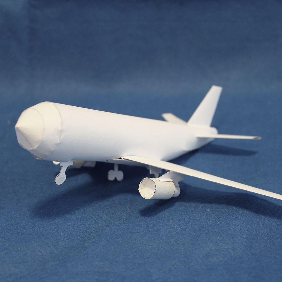 paper mock-up set model