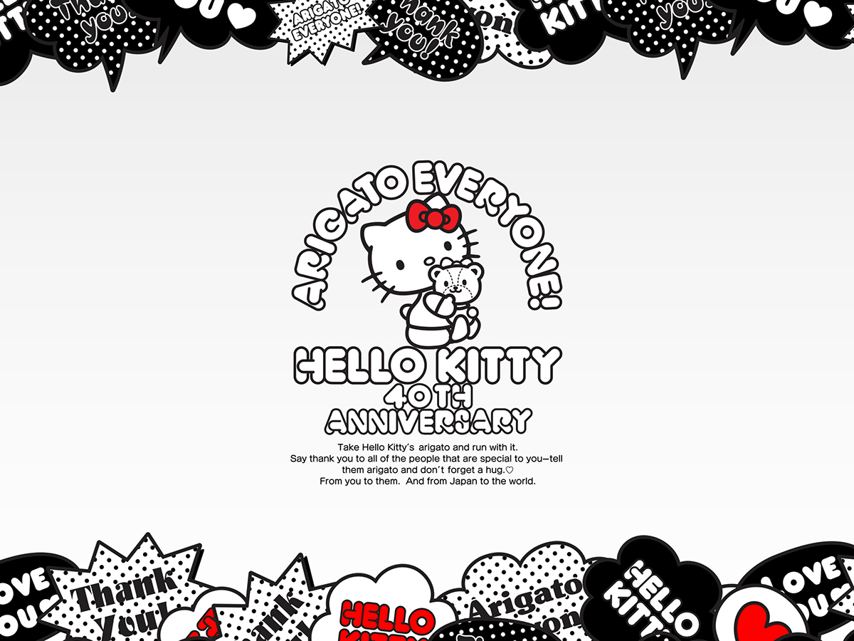 Hello Kitty 40th Anniversary Project On Behance