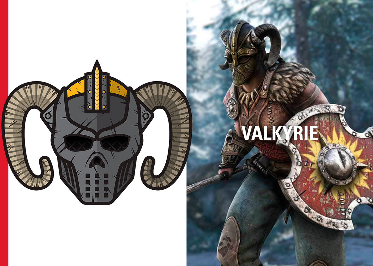 FOR HONOR: VIKINGS (Reddit Flair Designs) on Behance