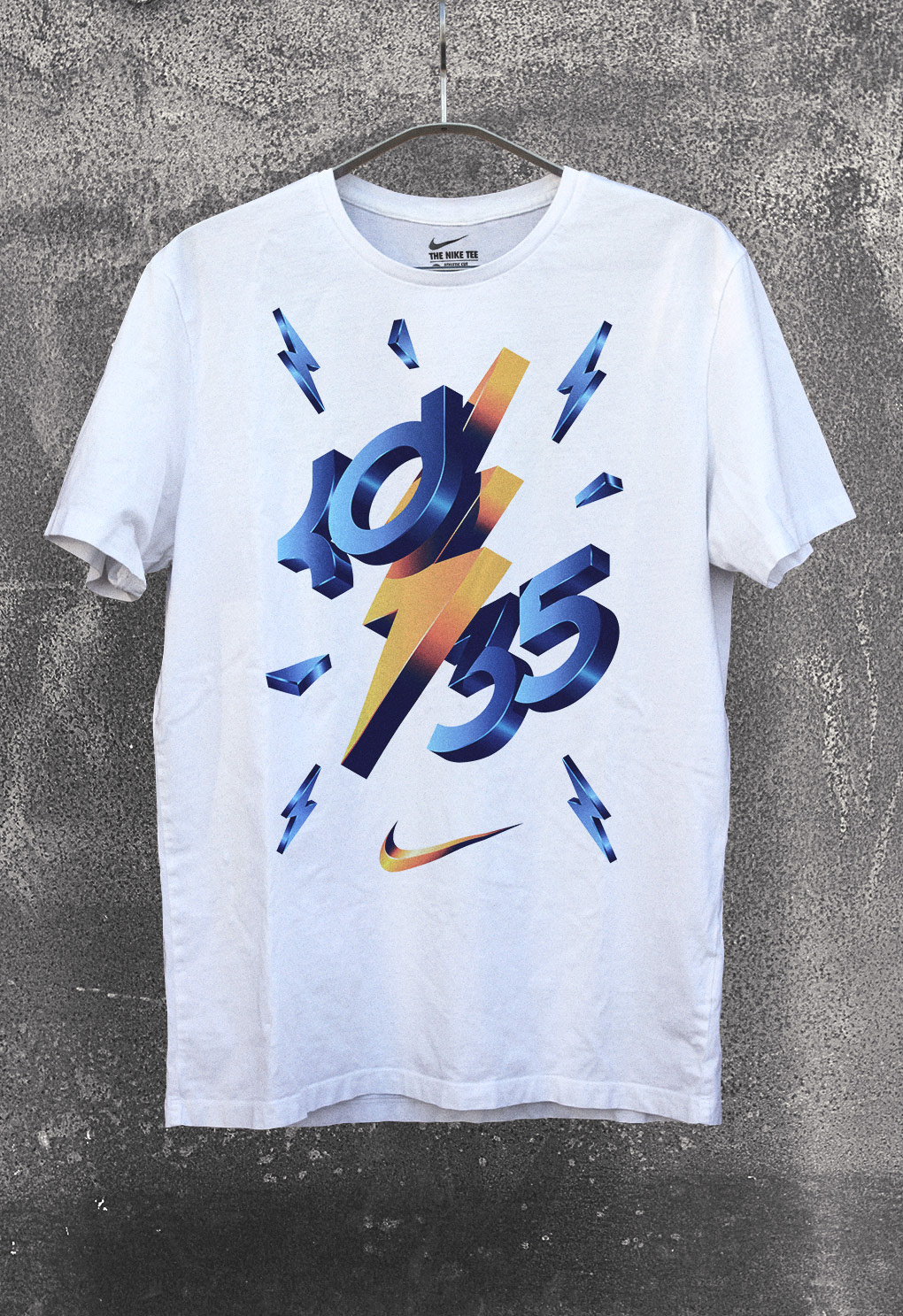 6f23123a7 I was commissioned by Nike Basketball to create this artwork for Kevin  Durant's apparel collection. The creative brief focused on creating a bold  and ...