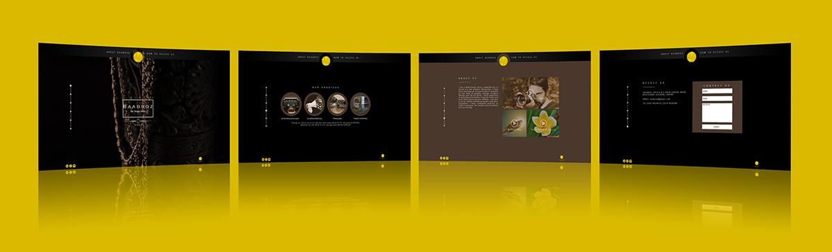 interactive design graphics advertisement