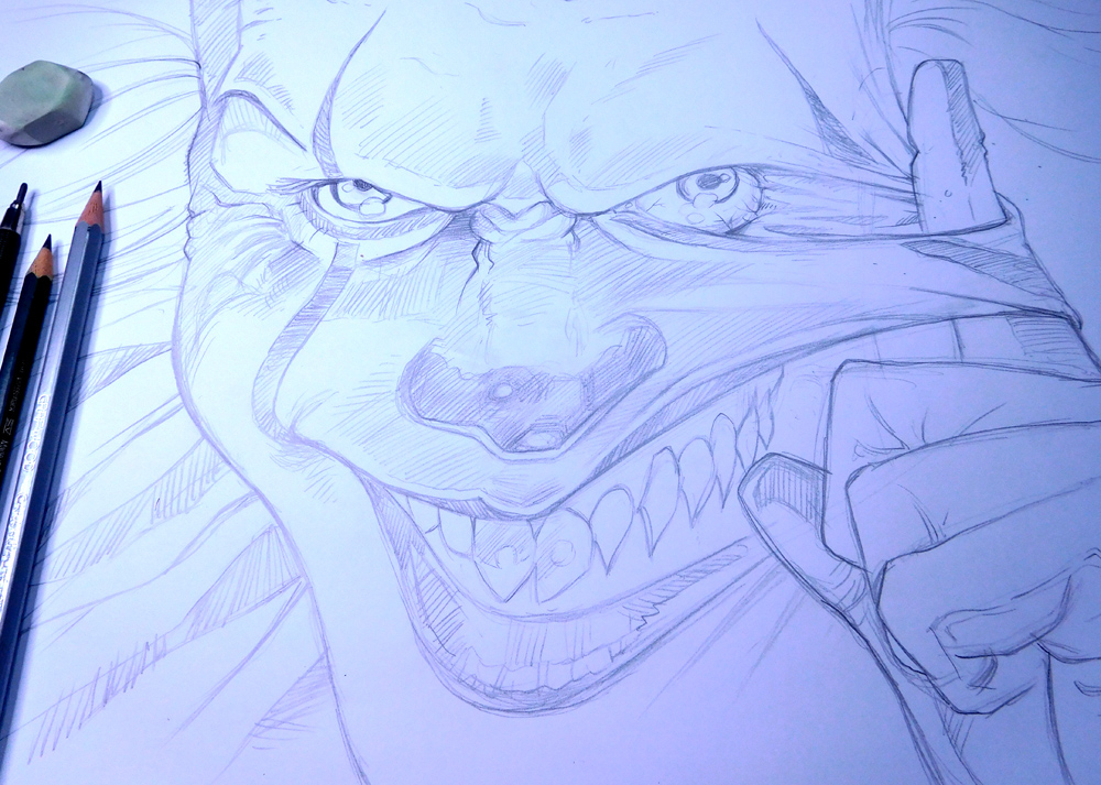 Halloween Illustration: Well That's Pennywise!