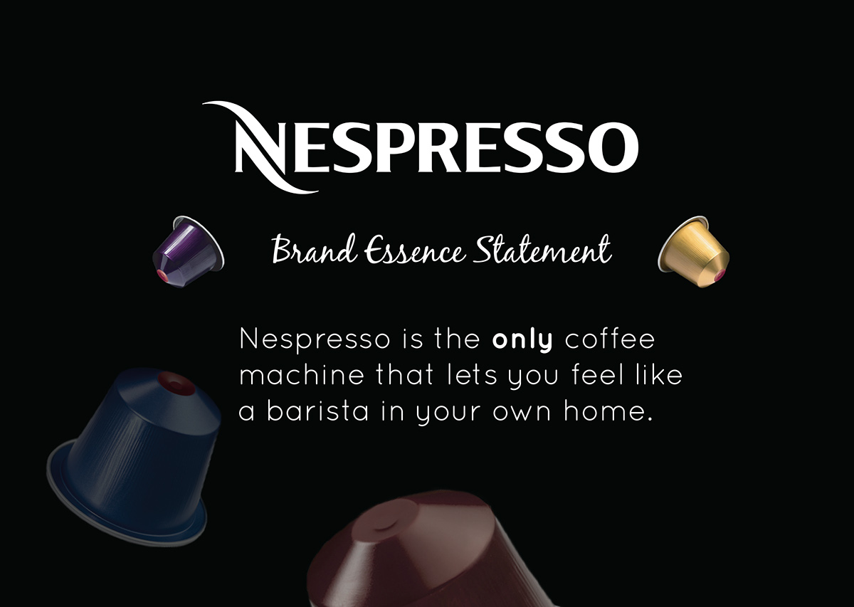 With Respect To The Nespresso Brand Logo Of Their Company Has Been Used In This Project As Well Images Coffee Pods And Advertisements