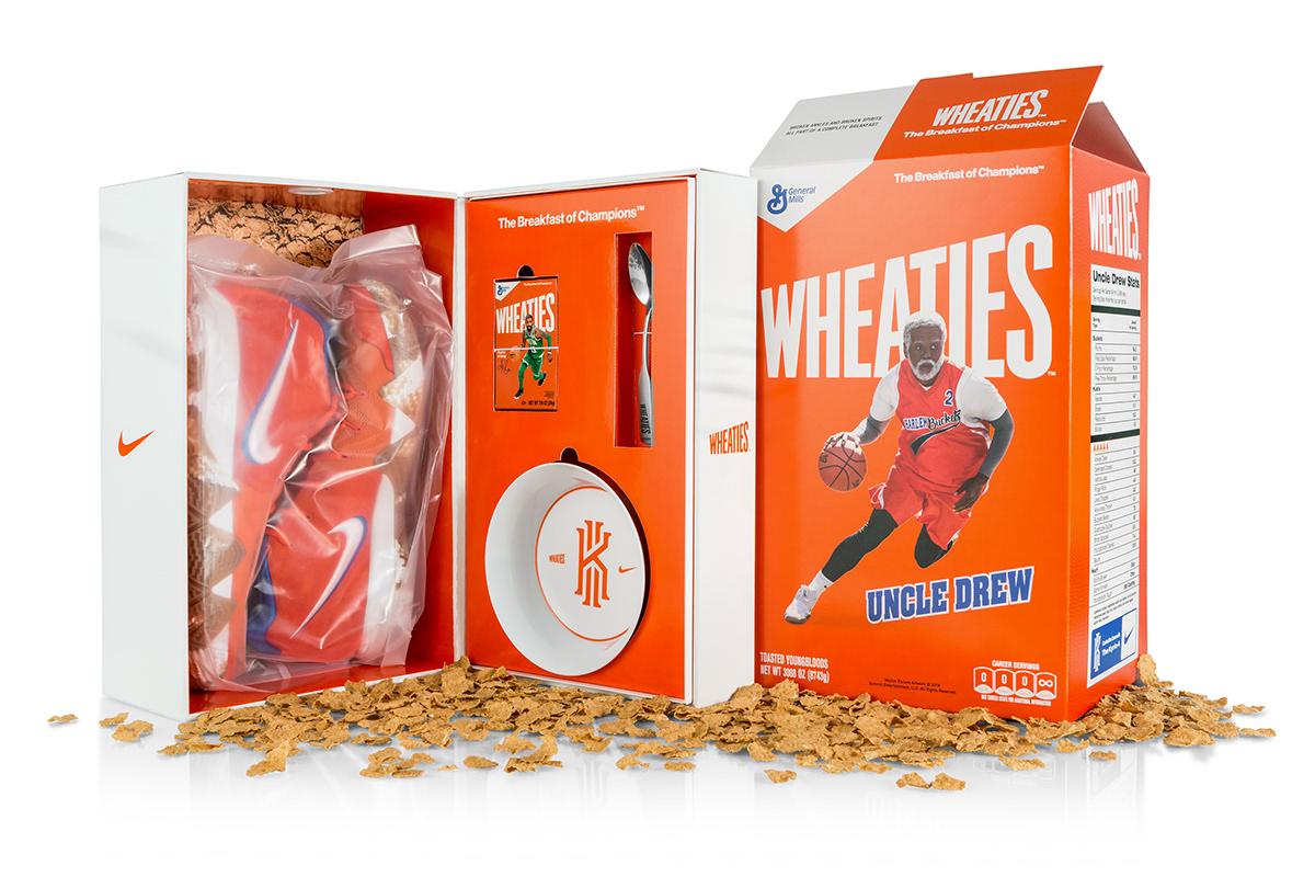 f15ba3361e20 Uncle Drew Wheaties Kit on Behance