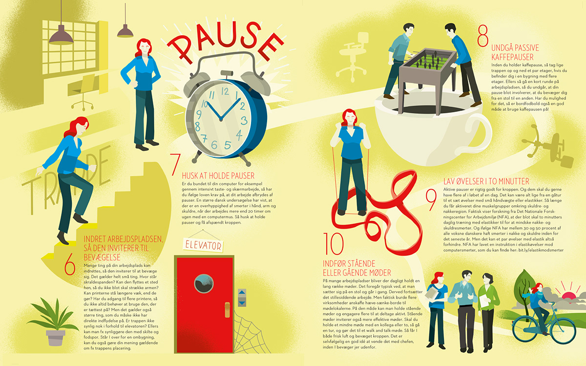 Keep Fit At Work On Behance