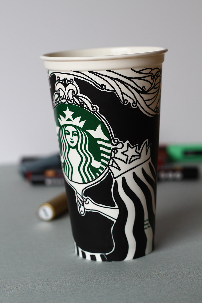 starbucks logo client starbucks collaboration with the vogue magazine