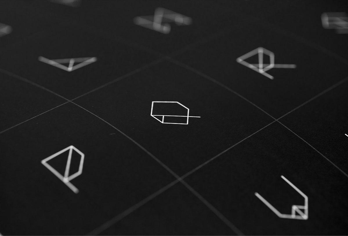 Adobe Portfolio geomas typo Custom Angles Straight lines astronaut Space  colours black Triangles squares geometric geometry symmetry angled man Headline font