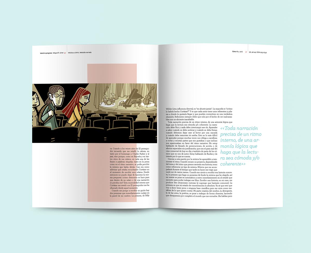 EME editorial diseño Miguel Ángel Giménez