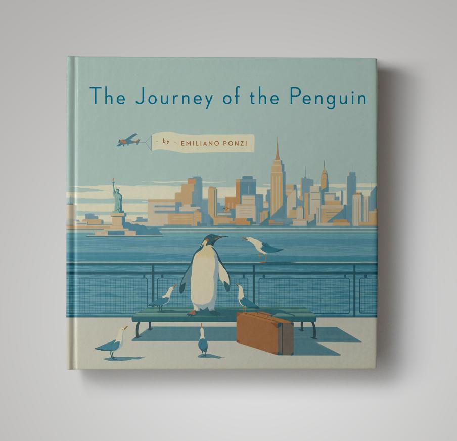 Nyc Subway Map Author Emiliano Ponzi.The Journey Of The Penguin Penguin Books On Behance