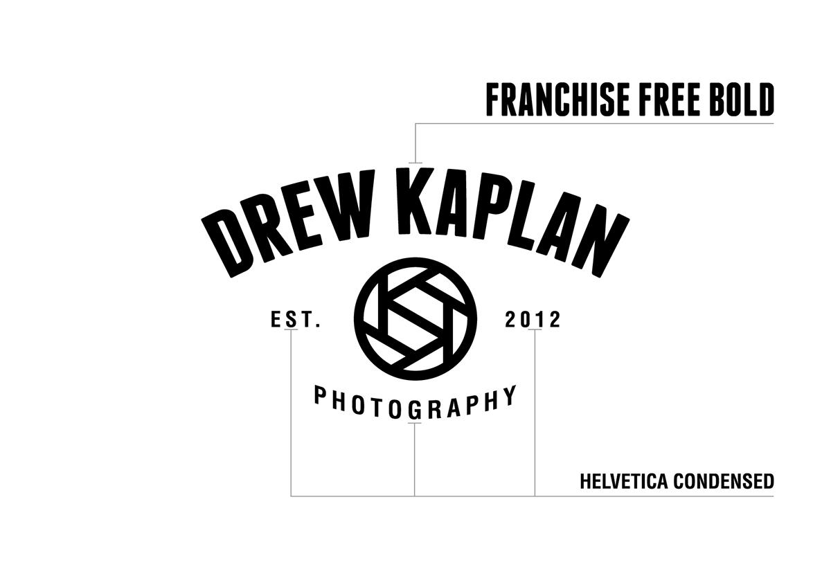 Drew Kaplan Photography Logo on Pantone Canvas Gallery